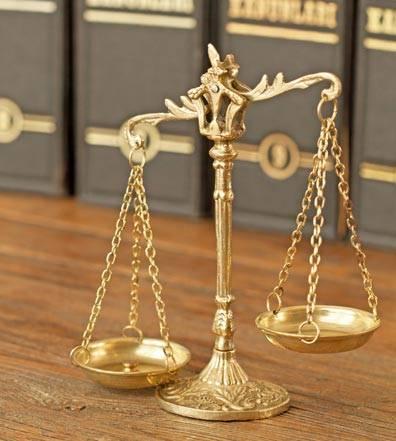 Balancing Scale on desk